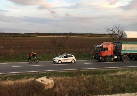 Atenţie şoferi: Maratonul 'Ştafeta veteranilor', organizat de Invictus România, traversează judeţul pe DN 19 spre Carei (FOTO / VIDEO)