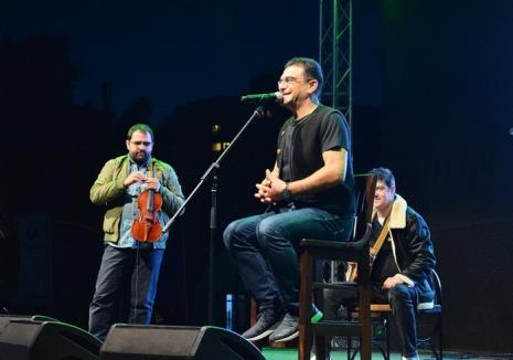 Sărbătoarea Recoltei, la Oradea: Concertul lui Mihai Mărgineanu a început cu aproximativ 20 de minute mai… repede! (FOTO / VIDEO)