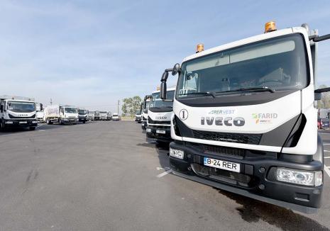 Să facem curăţenie! Cu un parc auto îmbunătăţit, RER Vest asigură colectarea deşeurilor în 26 de UAT-uri din Bihor