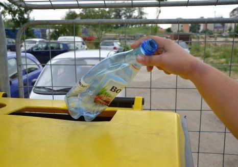 Harnici la reciclare: În primele 5 luni din an, orădenii au trimis la reciclat cu 40% mai multe deşeuri decât în acelaşi interval din 2016