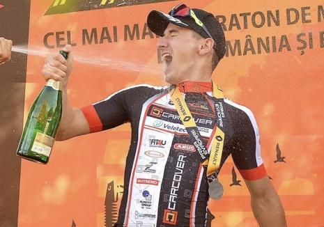 Performanţă: Orădeanul Raul Sînza a câştigat cel mai mare concurs de ciclism cross county din estul Europei! (FOTO)