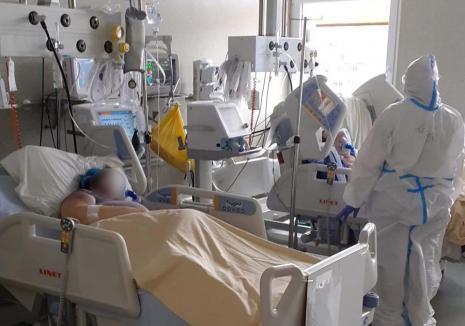 Al treilea val: Mortalitatea a crescut în Bihor la aproape 15 decese la mia de locuitori. Tot mai mulți tineri infectați de Covid