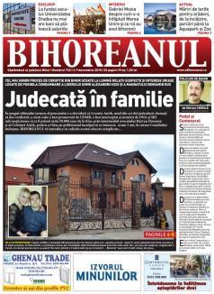 Nu ratați noul BIHOREANUL tipărit: Cel mai sonor proces de corupţie din Bihor scoate la lumină relaţii suspecte şi interese uriaşe
