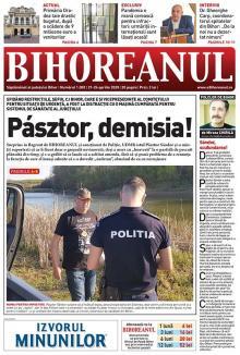 Nu rataţi noul BIHOREANUL tipărit: Şeful CJ Bihor a mers la pescuit ilegal cu o maşină cumpărată pentru sistemul de sănătate al judeţului