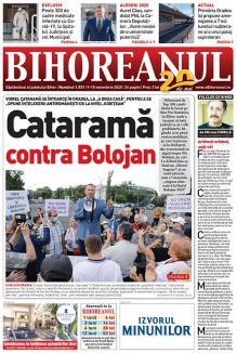 Nu ratați noul BIHOREANUL tipărit! A început campania electorală. Miliardarul Viorel Cataramă candidează în Bihor și iese la atac, provocându-i pe liberali