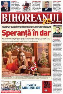 Nu ratați noul BIHOREANUL tipărit! A apărut numărul de Sărbători, cu un frumos pictorial dedicat unei Crăciunițe de admirat