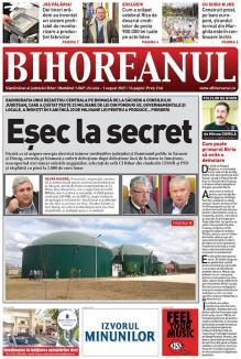 Nu rataţi noul BIHOREANUL tipărit! Centrala de biomasă de la Săcueni, care a costat 23 milioane de lei, un fiasco ţinut la secret de foştii şefi ai judeţului