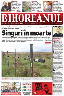 """Nu ratați noul BIHOREANUL tipărit! Povestea emoționantă a """"cimitirului abandonaților"""" din Bihor"""