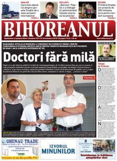 Nu rataţi noul BIHOREANUL tipărit: Managerul Spitalului Municipal a concediat doi cunoscuţi medici, pentru ciubucăreală şi conduită inumană