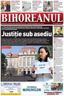 Nu ratați noul BIHOREANUL tipărit! Inspecția Judiciară a luat în colimator 7 judecători din conducerea Tribunalului Bihor