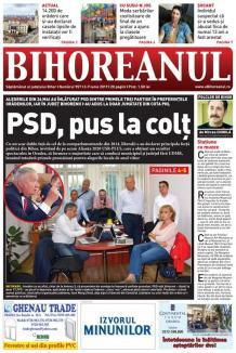 Nu ratați noul BIHOREANUL tipărit: Orădenii au înlăturat PSD dintre primele trei partide, iar bihorenii l-au adus la jumătate din cota PNL