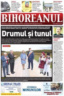 """Nu ratați noul BIHOREANUL tipărit: Conducerea CJ Bihor a """"îngropat"""" 2,5 milioane euro din banii județului în lucrări """"cu cântec"""""""