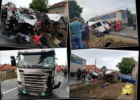 Şoseaua morţii: 6 oameni au murit şi 11 au fost grav răniţi, doar în luna august, pe tronsonul bihorean al DN1 (FOTO)