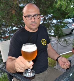 Bere de plăcere: Un universitar din Oradea produce o 'bere de casă' premiată la competiţii internaţionale (FOTO)