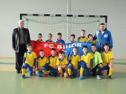 Copiii din 2006 de la FC Bihor vor juca la Focşani în faza finală a Trofeului Gheorghe Ola