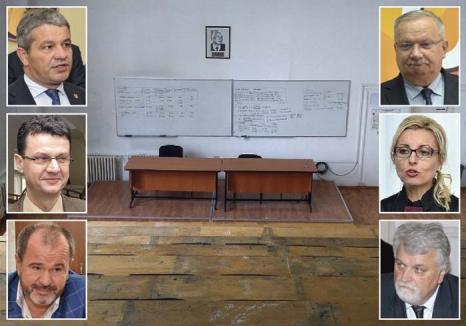 Sorbonei au fost, sorbonei rămân! Şefii Universităţii din Oradea se feresc să-i sancţioneze pe profesorii prinşi că au chiulit