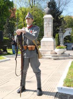 'Trăiască România Mare!' Din 12 octombrie 1918 şi până în 20 aprilie 1919, Oradea a trecut prin luni grele de suspans, intrigi şi violenţe