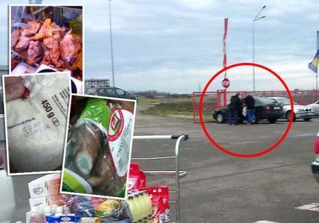 Ne vând gunoaie! Un supermarket din Oradea vinde produse expirate, cu complicitatea Direcţiei Sanitar-Veterinare (FOTO / VIDEO)
