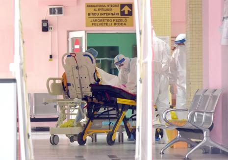 Bihorul în alertă: Criza Covid-19 se agravează. În două săptămâni, îmbolnăviri cât în celelalte 5 luni de pandemie la un loc!
