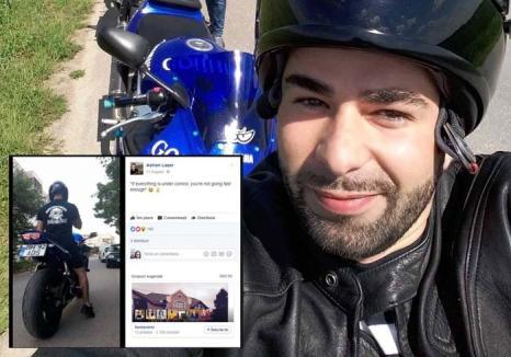 Motociclist 'terorist': Locuitorii din Salonta sunt terorizaţi de un motociclist zgomotos (FOTO/VIDEO)
