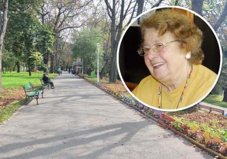 Aleea Anna Marossy: O arteră din Parcul Libertăţii din Oradea va purta numele reputatului biolog