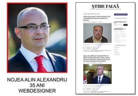 Falsificatorul de partid: Un consilier PSD din Vadu Crişului şi-a făcut un site prin care încearcă să discrediteze anchetele despre politruci
