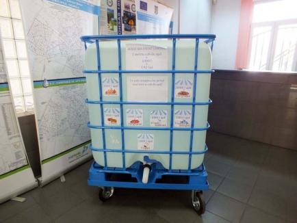 Un metru cub de apă, pentru clienţii CAO
