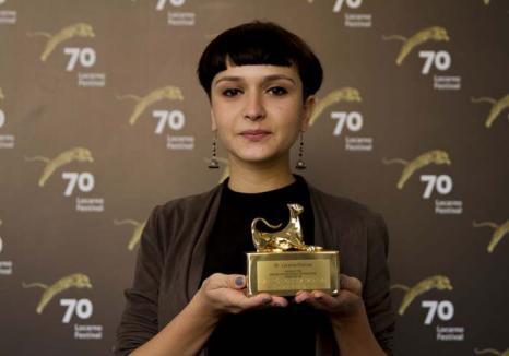 Regizoare de aur: La 26 de ani, orădeanca Cristina Haneş a impresionat juriul prestigiosului Festival de Film de la Locarno