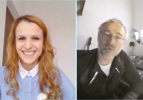 In Psiho Veritas: O tânără psihologă din Oradea realizează o emisiune online inedită (VIDEO)