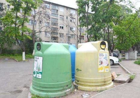 Fără igluuri: În această săptămână vor dispărea toate containerele tip clopot de pe străzile din Oradea