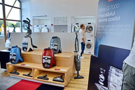 Miele în Oradea: Cel mai mare producător mondial de electrocasnice premium şi-a inaugurat showroom-ul din strada Independenţei 3 (FOTO / VIDEO)