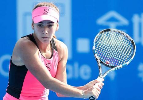 Campioana din Ştei: O tenismenă bihoreancă de 22 de ani îi ţine piept Simonei Halep