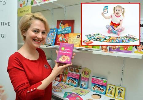Jucăriile cu poveşti: O orădeancă a devenit populară în toată ţara fiindcă îi învaţă pe copii să pronunţe corect prin jocuri inedite