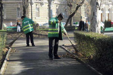 """Curăţenie """"automată"""": RER vrea să înlocuiască muncitorii din parcuri cu maşinării mai eficiente"""