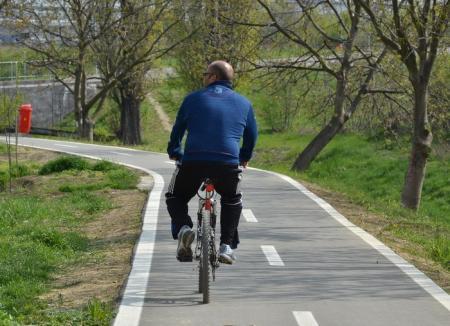 Pista de biciclete transfrontalieră, mai lungă cu 8 kilometri