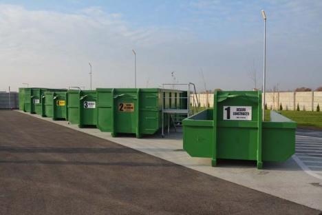 RER continuă investiţiile! Se va face şi un al doilea punct de colectare a deşeurilor mari