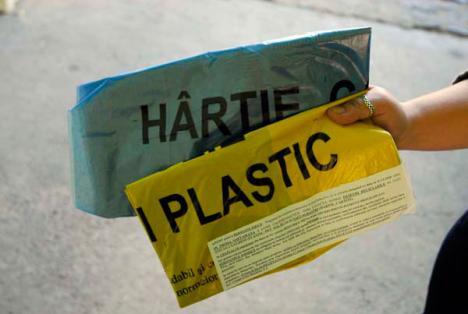 Săteni, atenţie la reciclabile!