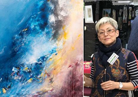 Artistă la Paris: Povestea orădencei care a ajuns una dintre cele mai premiate pictoriţe din Franţa (FOTO)