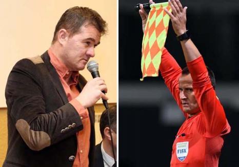 'Box' în fotbal: Reputatul arbitru Octavian Şovre acuză politizarea fotbalului bihorean