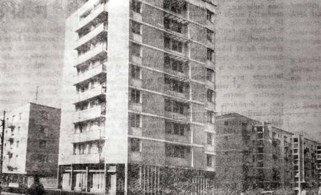 Oradea ieri, Oradea azi: Când a fost construit primul bloc turn din oraş