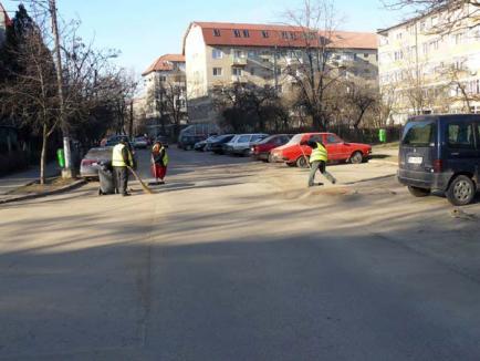 Oradea, tot mai curată