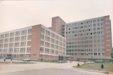 Oradea ieri, Oradea azi: Cum a luat ființă Spitalul Județean și cum va arăta după modernizări