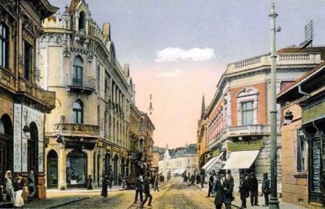 Oradea ieri, Oradea azi: Casa de aur de pe Corso