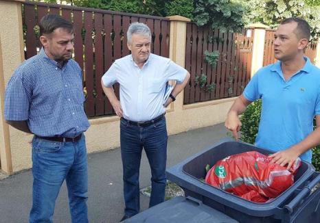 Tutto riciclato! Un specialist italian în colectarea selectivă a deşeurilor a venit la Oradea pentru a găsi cele mai bune soluţii de reciclare