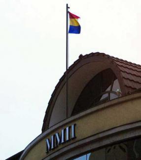 Tricolor culcat la Inspectoratul de Construcţii