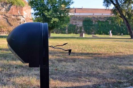Ne enervează: Pericol pentru copii, în Parcul Cetății