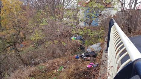 Ne enervează: Strada Olteniei, o nouă 'groapă de gunoi' a Oradiei