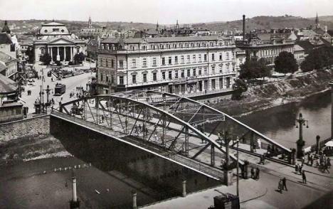 Oradea ieri, Oradea azi: Află povestea podului din centrul oraşului!
