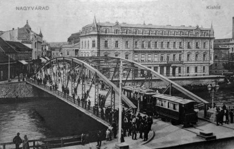 Oradea ieri, Oradea azi: Povestea podurilor din orașul de pe Crișul Repede