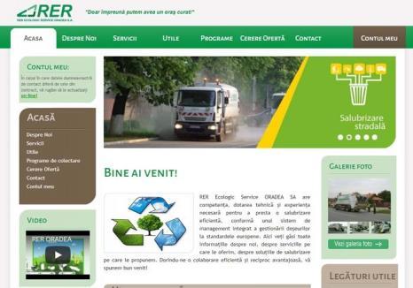 Conectaţi-vă la RER! Orădenii pot profita de facilităţile electronice oferite de RER Ecologic Service